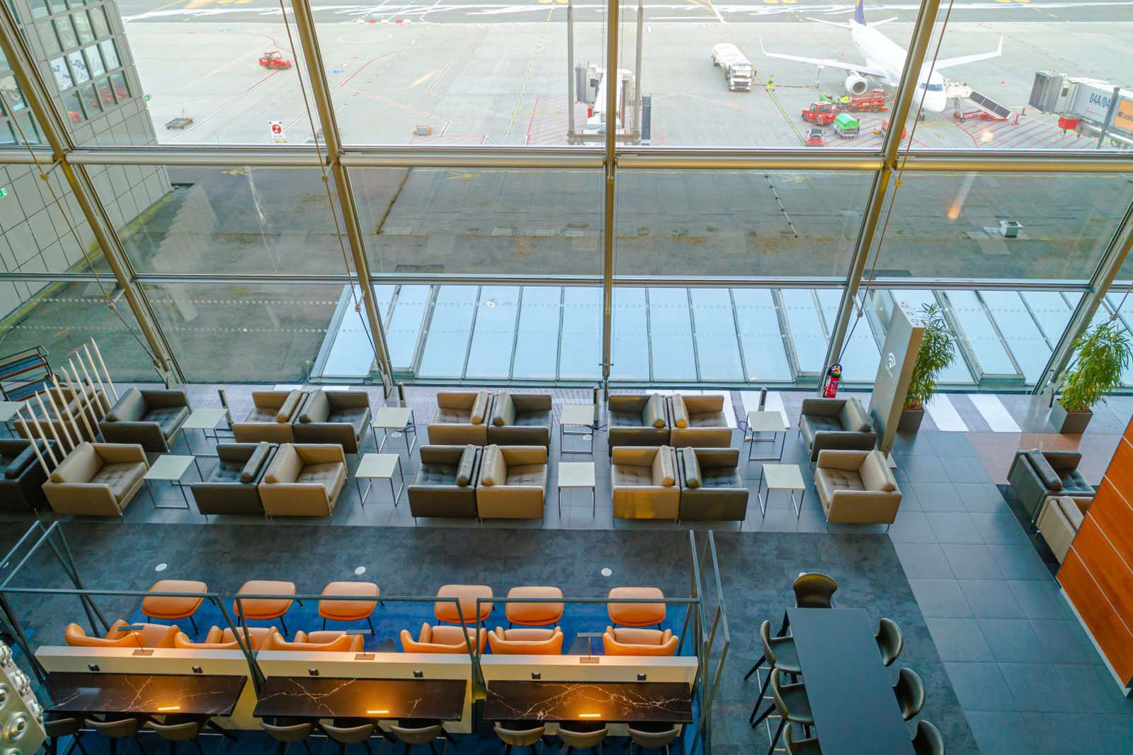 BoConcept_VIP lounge lotnisko w Hamburgu